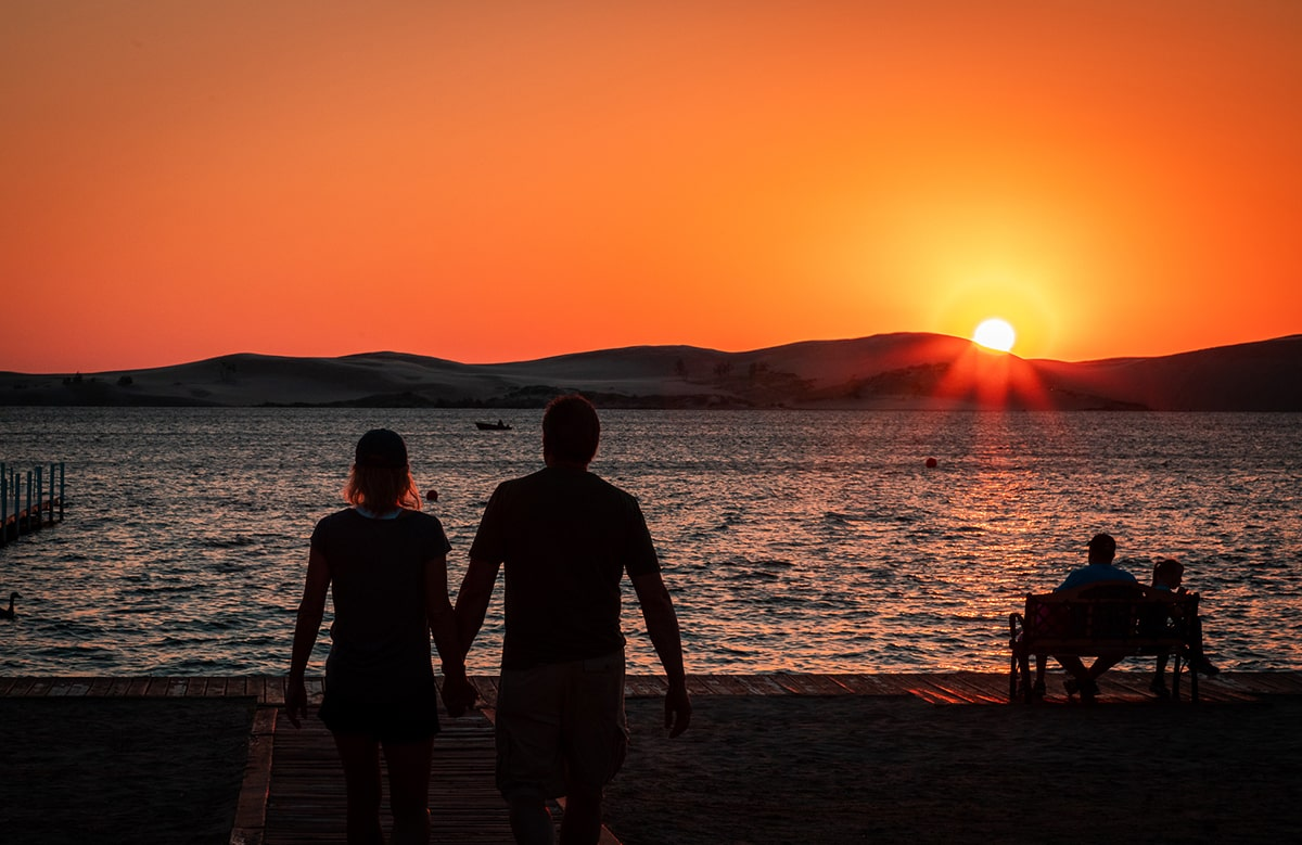 Sunset of Silver Lake