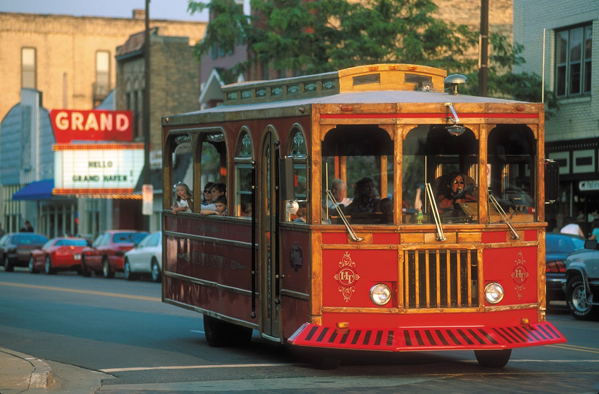 Grand Haven Trolly
