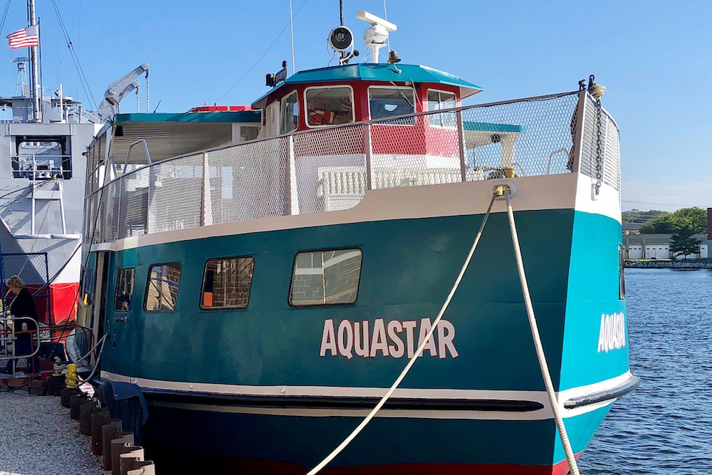 Aquastar boar in Muskegon