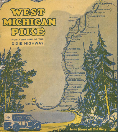 West Michigan Pike 1915 Route Cover Image
