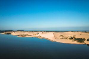 Silver Lakes Sand Dunes / Hart beach