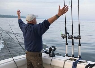 World Class Fishing on Lake Michigan - Michigan Beachtowns