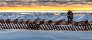 Winter Lake Michigan
